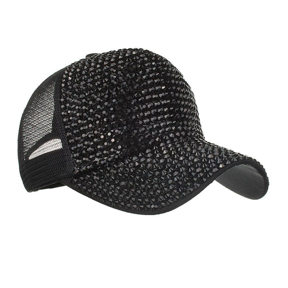 NEW Fashion Rhinestone Cap Diamond Hats