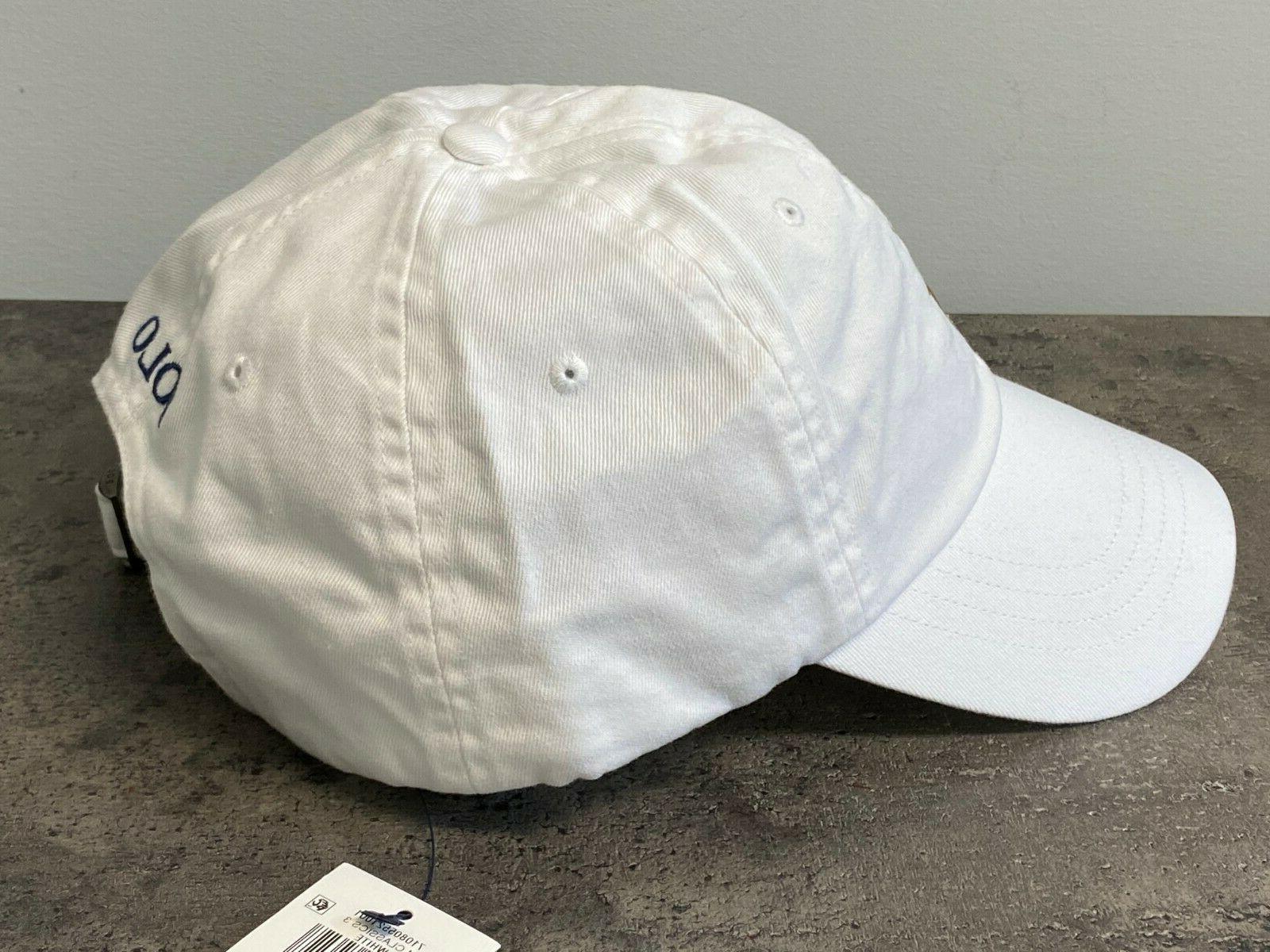 NEW Polo Multi Chino Cap Black White