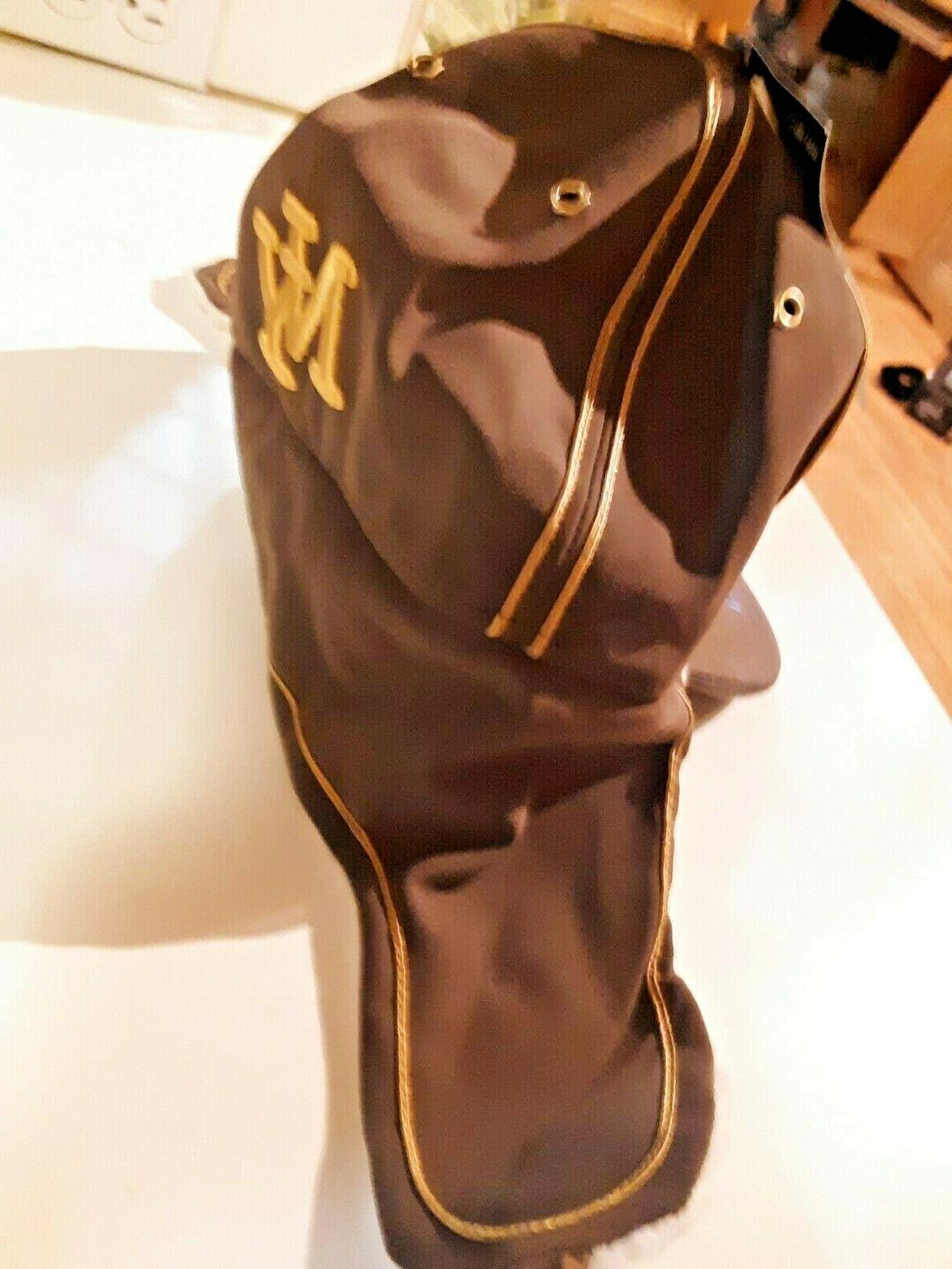 NEW Hunter Baseball Brown Embroidered ear flaps
