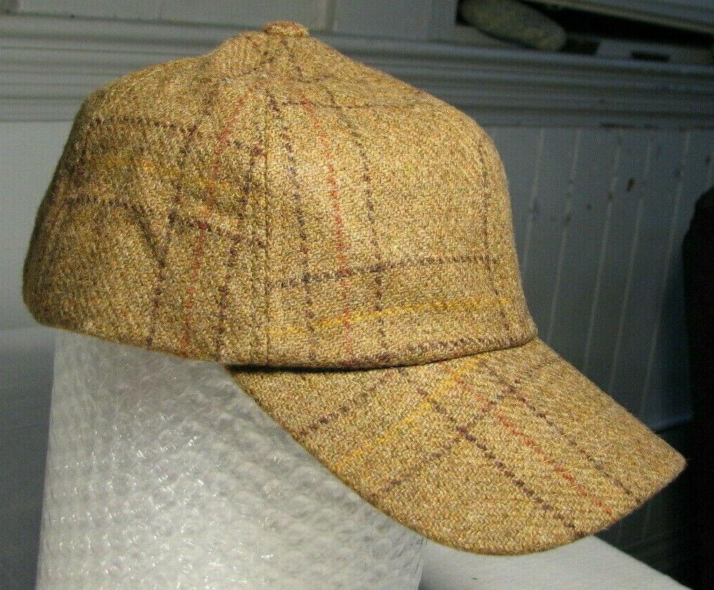 New Orvis Scottish Wool Baseball Adjustable