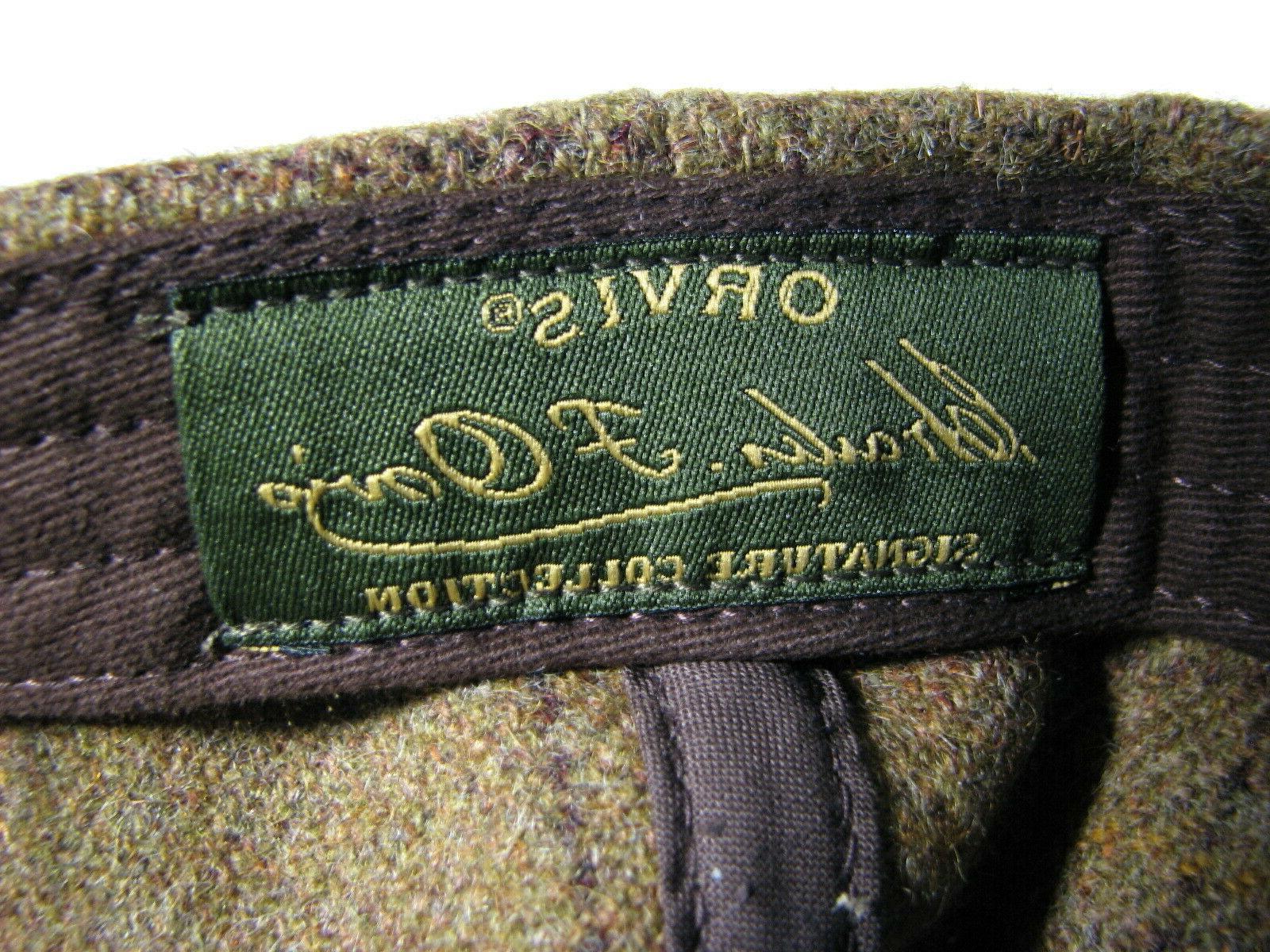 New Orvis Scottish Wool Baseball Ball Adjustable