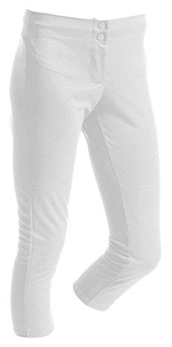 A4 NG6166 Youth Softball Pant - White, Extra Small