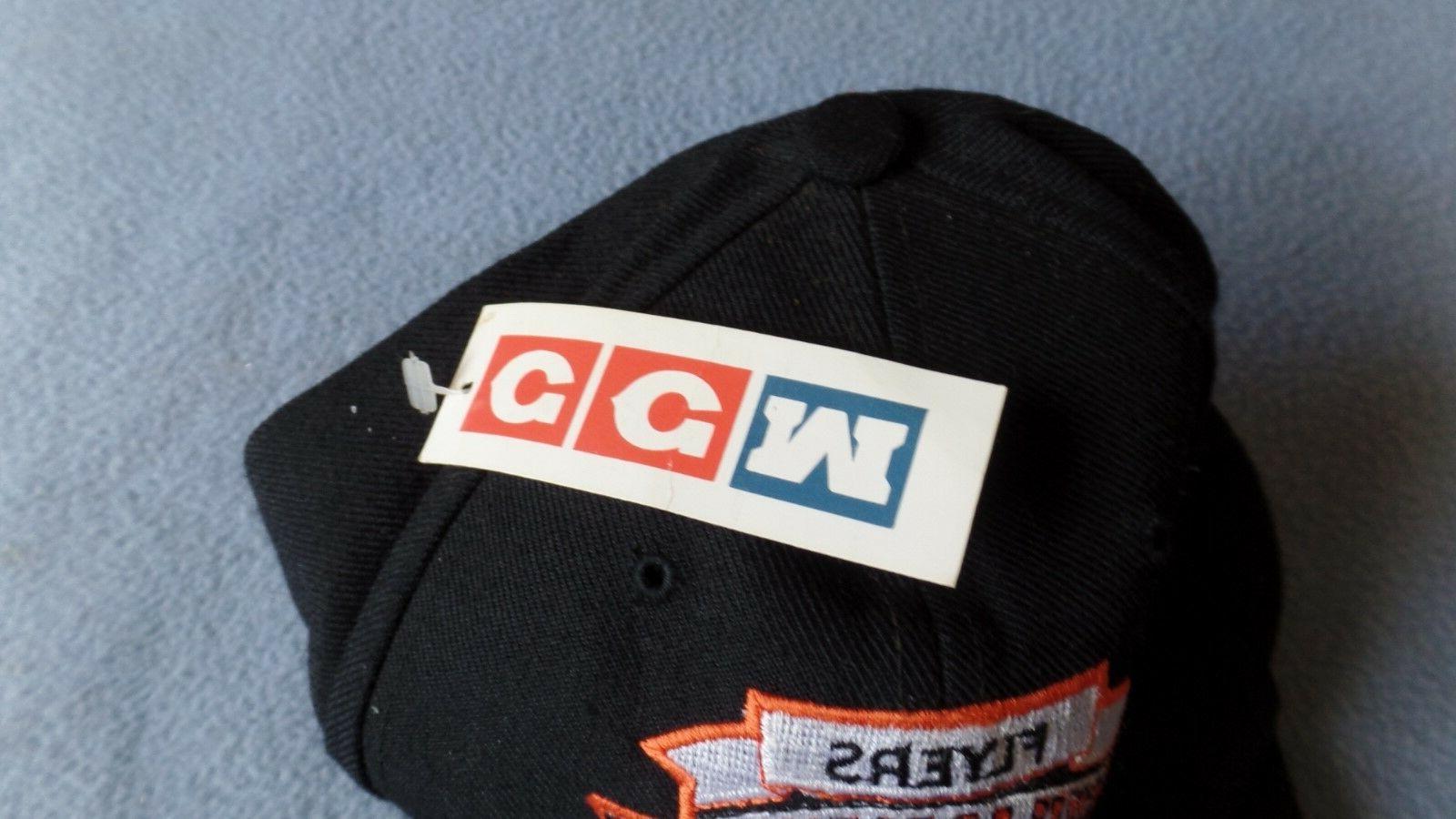 CCM NHL Philadelphia Baseball Hat Black New With