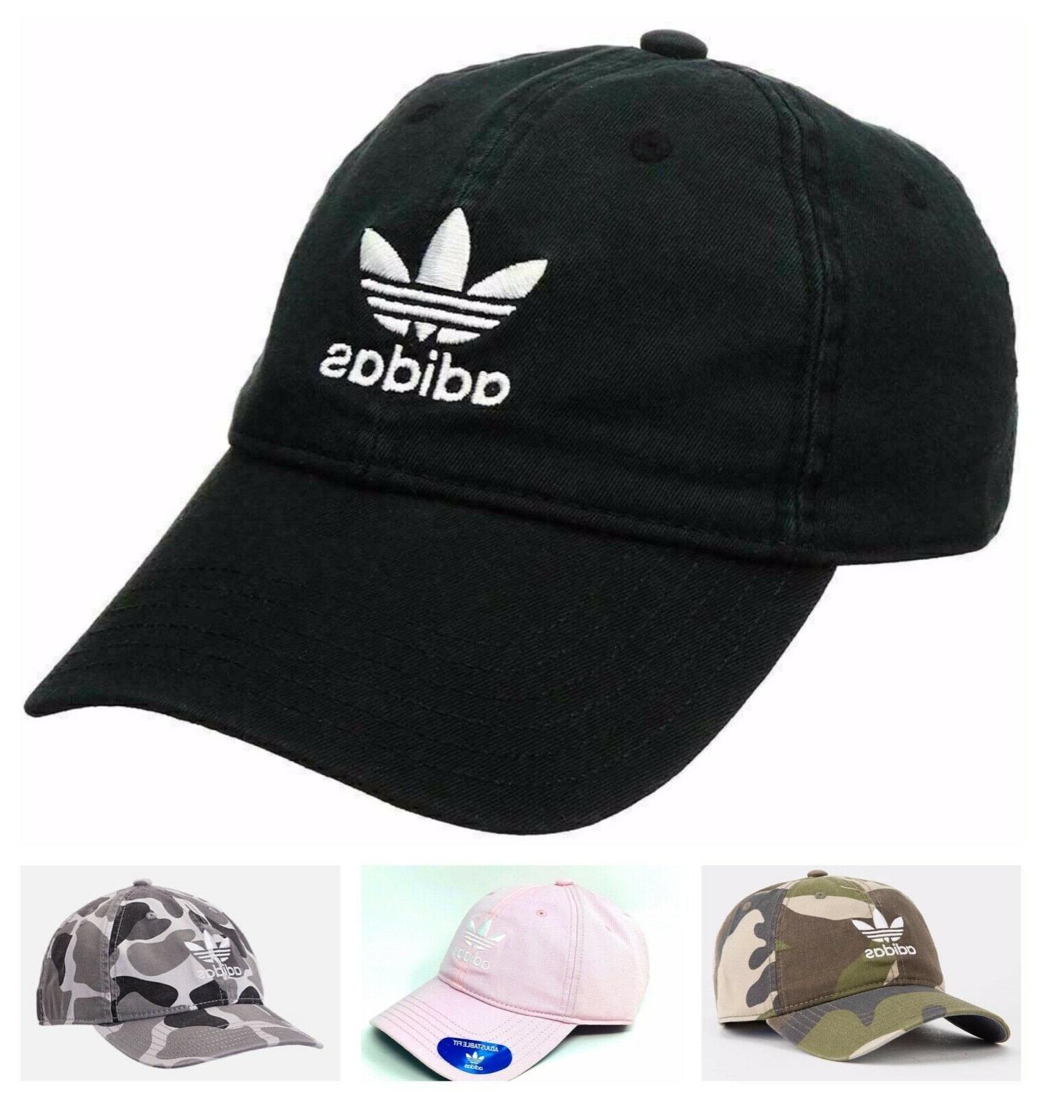 Adidas Originals Mens Strapback 100% Black