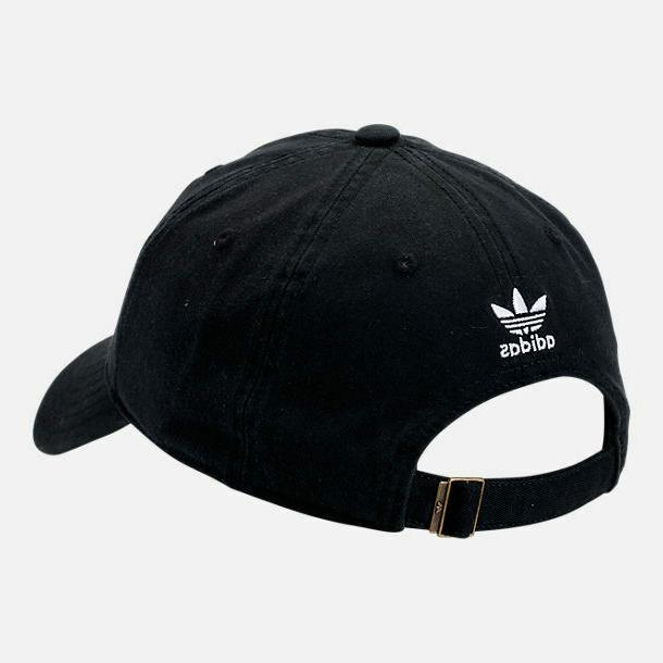 Strapback Hat 100% Black Baseball Cap