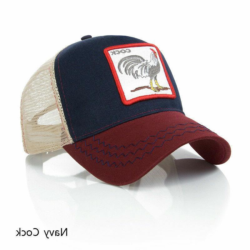 Personality Baseball Embroidery Pattern Hip Fashion Hats