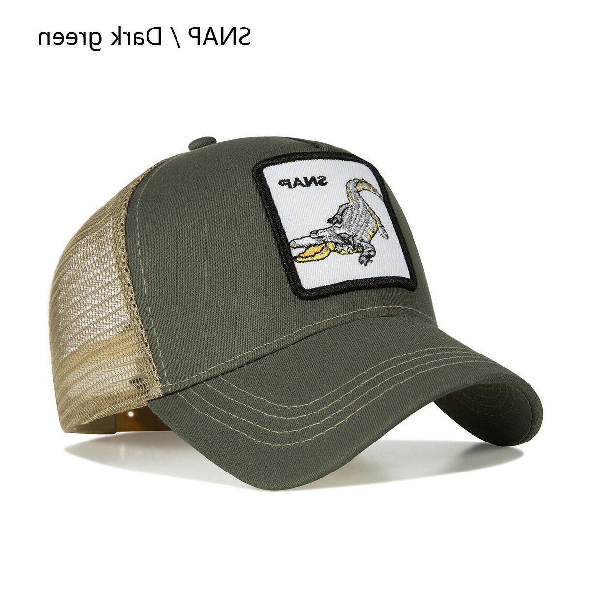 Personality Embroidery Pattern Fashion Hats