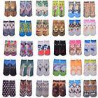 """Photo Printed Girls / Women's 7.5 - 8"""" FOOTIE ANKLE SOCKS 10"""