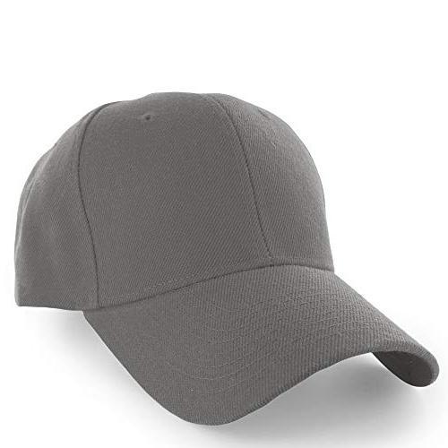 plain baseball cap adjustable men women unisex