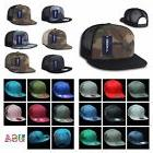 Plain Baseball Cap Adjustable Snapback Trucker Mesh Army Fla