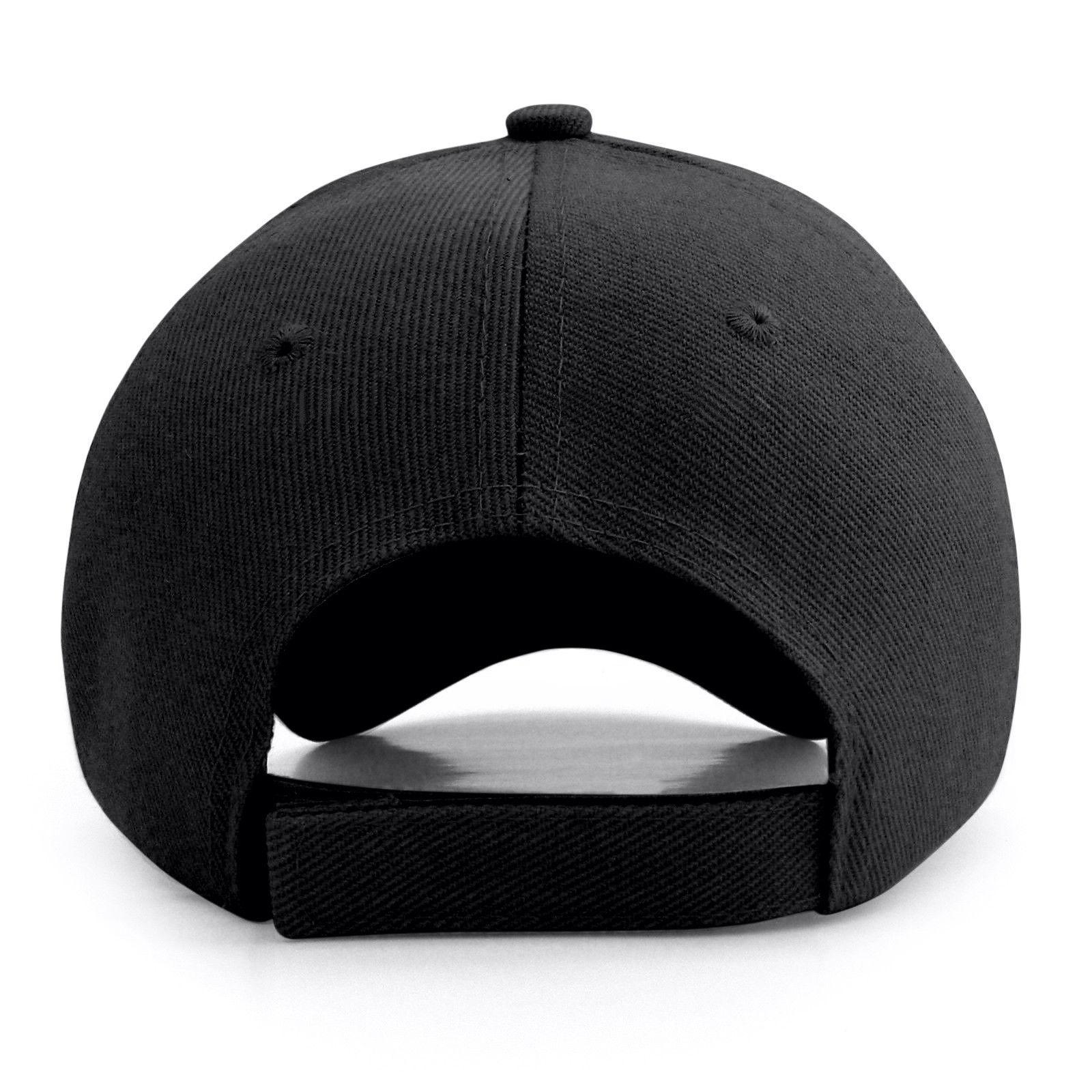 Plain Baseball Cap Solid Color Blank Visor Hat New