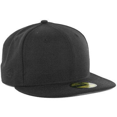plain tonal 59fifty fitted hat black men
