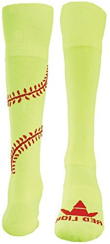 Red Lion Play Ball Knee High Athletic Socks