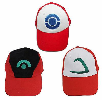 Pokemon Go Baseball Cap Ash Ketchum Cosplay Costume Summer C