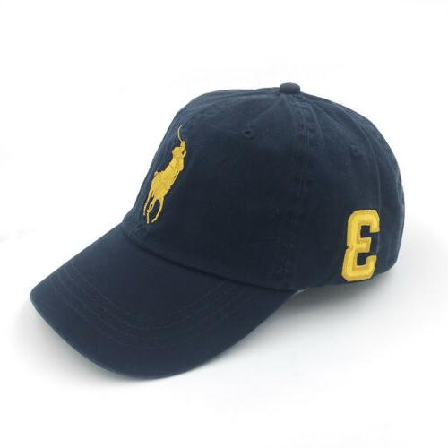 Polo Baseball With Pony Adjustable Men's Hat