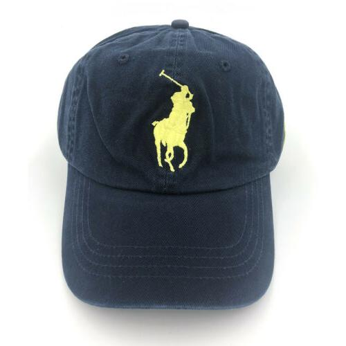 Polo Cap Embroideried Big Pony Baseball Hat Unisex