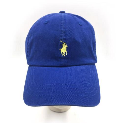 Polo Embroidery Baseball Cap Mens Adjustable Hat