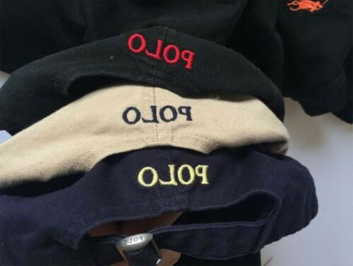 Polo Cap Mens Adjustable Sport Embroideried