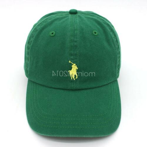 Polo Mens Strapback Golf Sport Pony