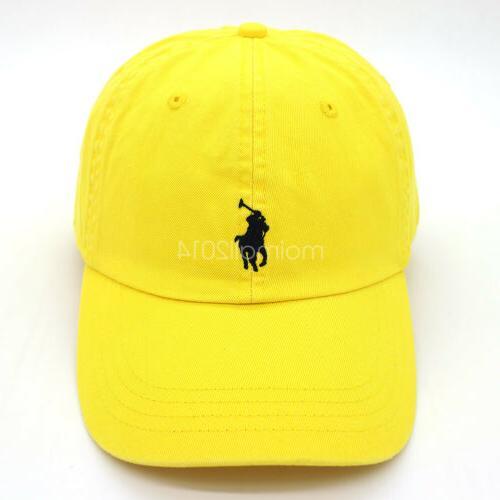 Polo Baseball Cap Golf Sport Small Pony