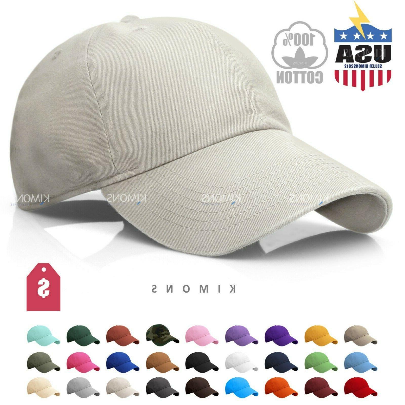 polo style cotton baseball cap ball dad