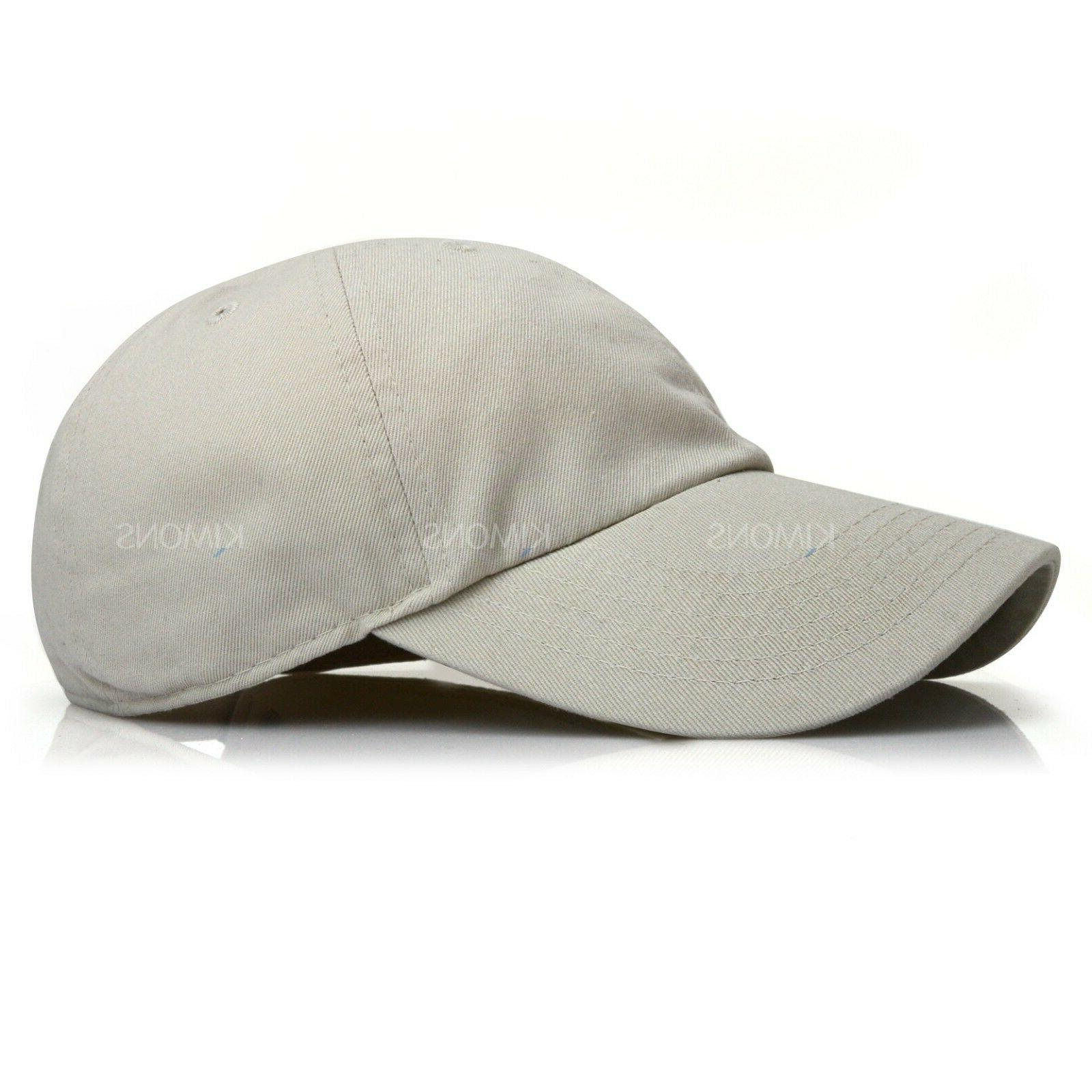 Polo Cotton Cap Adjustable Mens