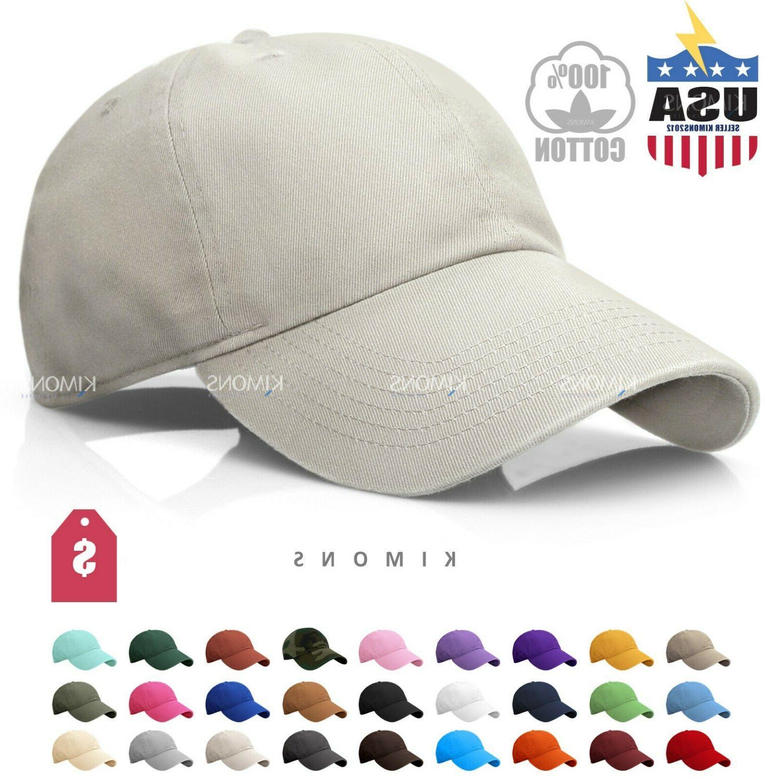 polo style baseball cap ball dad hat