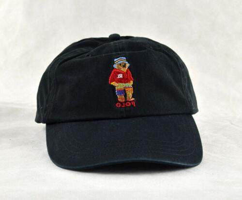 Polo Golf Cap Animals Embroidery Hat Mens