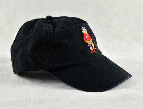 polo style golf baseball cap animals embroidery