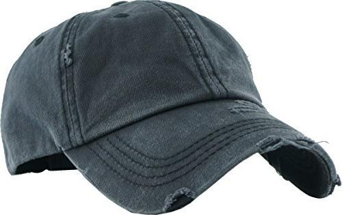 PONY-001 Ponytail High Bun Headwear Cotton Trucker Baseball