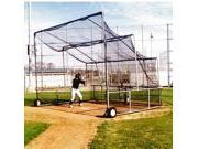 Portable Batting Cage w Double Netting