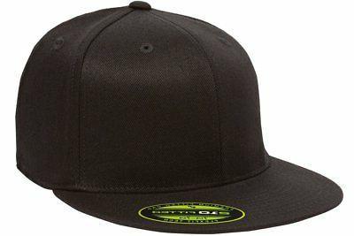 premium fitted flat bill cap 6210