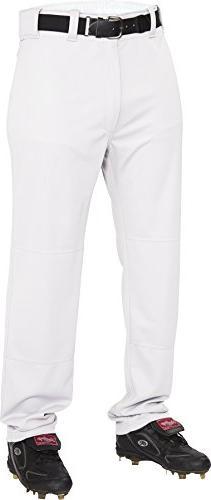 Rawlings  Men's Semi-Relaxed Pants, Medium, White