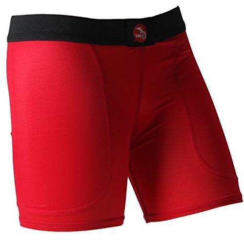 rise layered sliding shorts