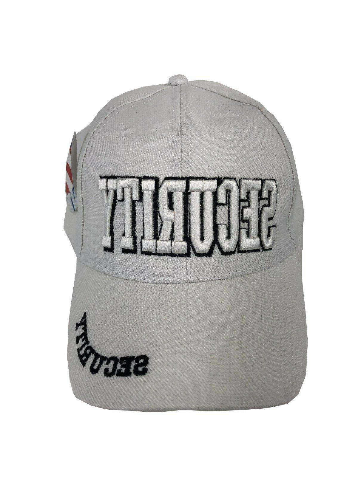 """SECURITY"" Fits All Baseball Cap Hat"