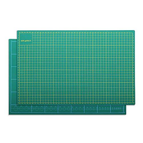 Zoraa Mats w/Rotary Cutter Large Vinyl, Cardstock, Fabric | Hobby, and DIY Style