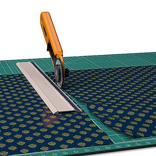 Zoraa Self-Healing Cutting w/Rotary Cutter Small Large Vinyl, Paper, | Art, Style