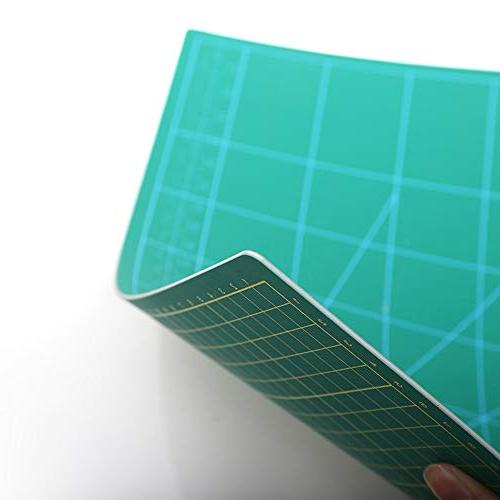 Zoraa w/Rotary Cutter Small and Large Grid for Vinyl, Fabric | DIY Projects | Style