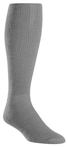 Twin City Adult All Sport Solid Color Tube Socks, Light Gray