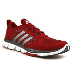 Adidas Speed Trainer Red White Metallic Mens Athletic Runnin