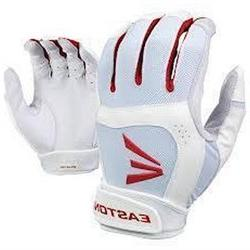 1 Pair Easton Stealth Core Fastpitch Womens X-Large White /