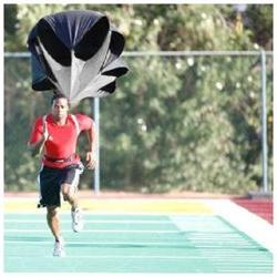 strength speed training parachute