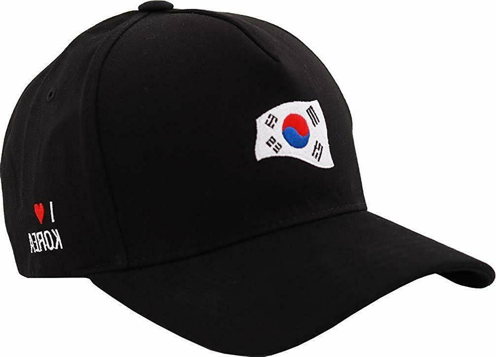 sujii BTS Wave Baseball Cap Outdoor