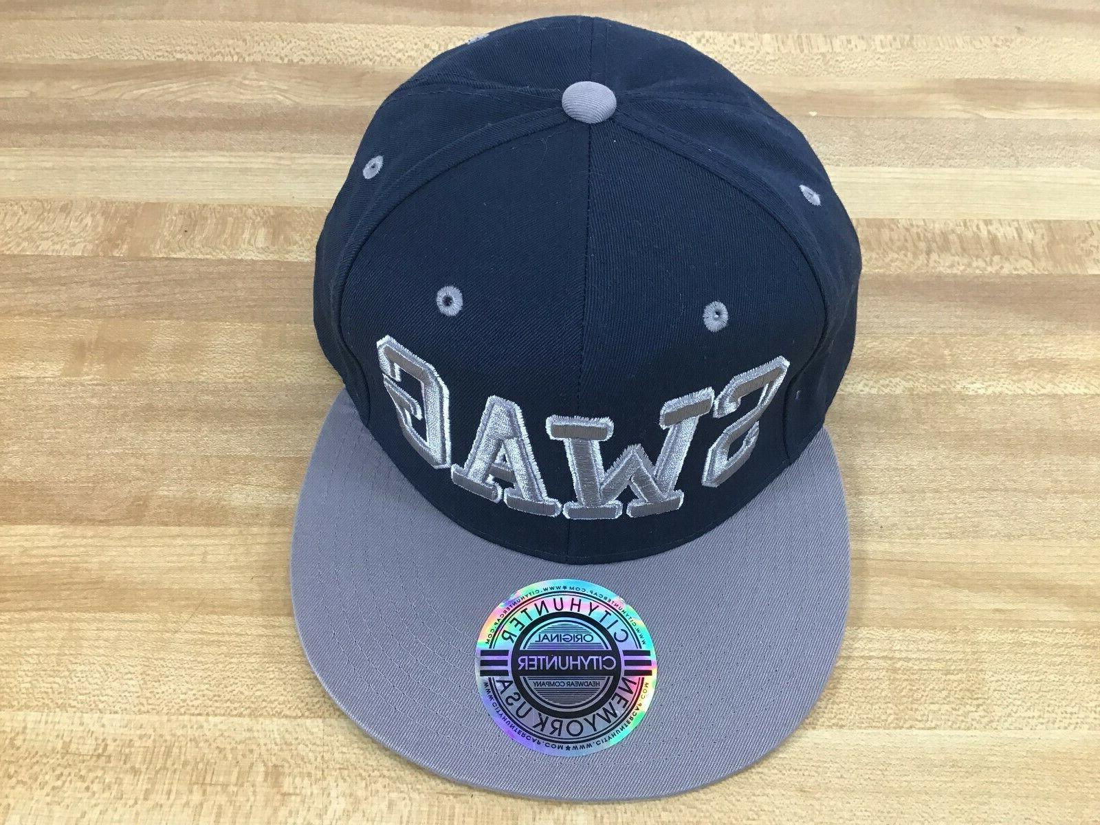 SWAG City York USA Hat Adjustable Snapback