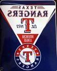 Texas Rangers blanket bedding 70x55 SILK Touch Super Soft ML