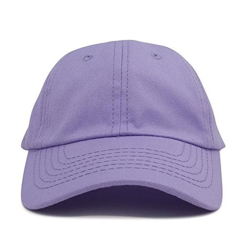 DALIX Hats Girls Baseball Cap Hat Infant Lavender