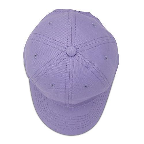 DALIX Girls Hat Infant Caps Lavender