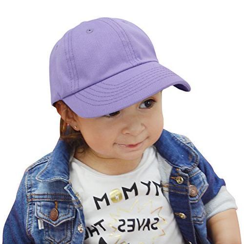 DALIX Toddler Girls Hat Infant Girl Lavender