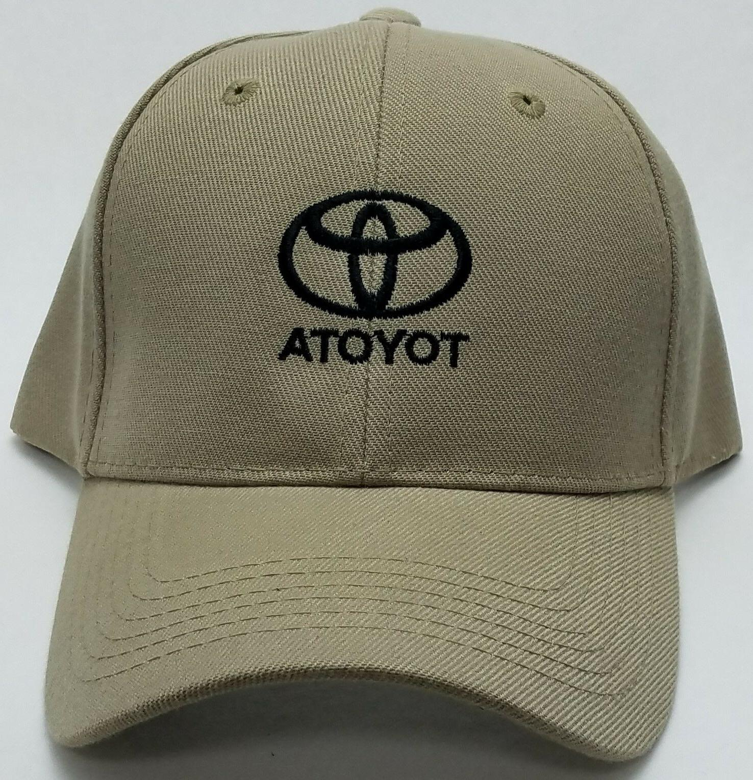 Toyota Embroidered Cap Adjustable