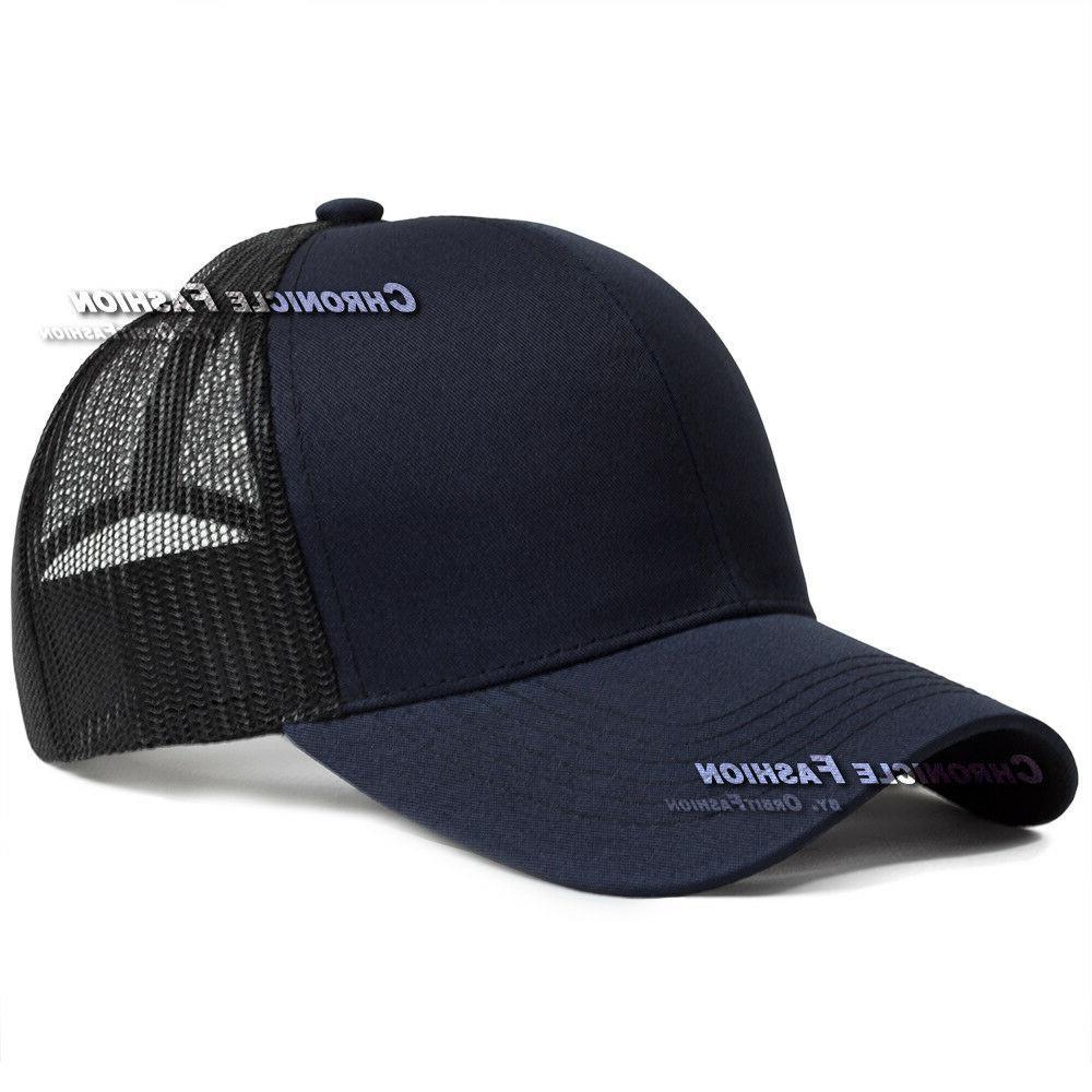 Trucker Hat Mesh Plain Caps